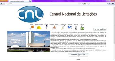 Central Nacional de Licitações